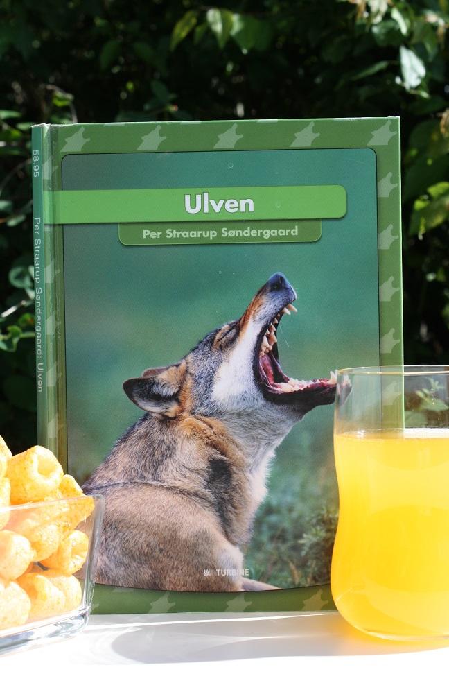 """Billede af Per Straarup Søndergaards bog """"Ulven""""."""