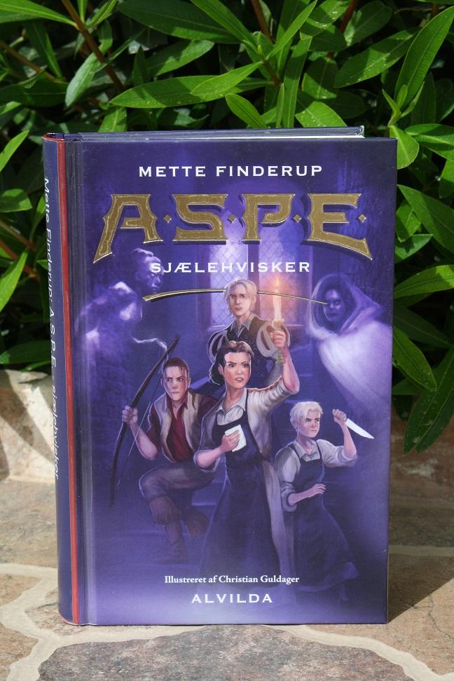 """Billede af Mette Finderups bog """"A.S.P.E. 3: Sjælehvisker""""."""