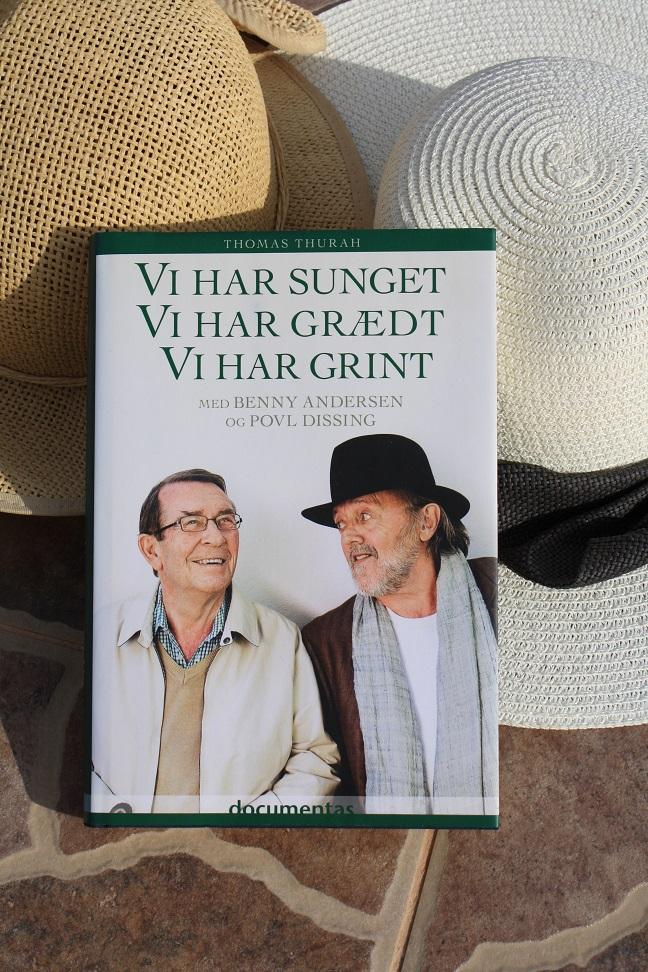 """Billede af Thomas Thurahs bog """"Vi har sunget, vi har grædt, vi har grint - med Benny Andresen og Povl Dissing"""""""