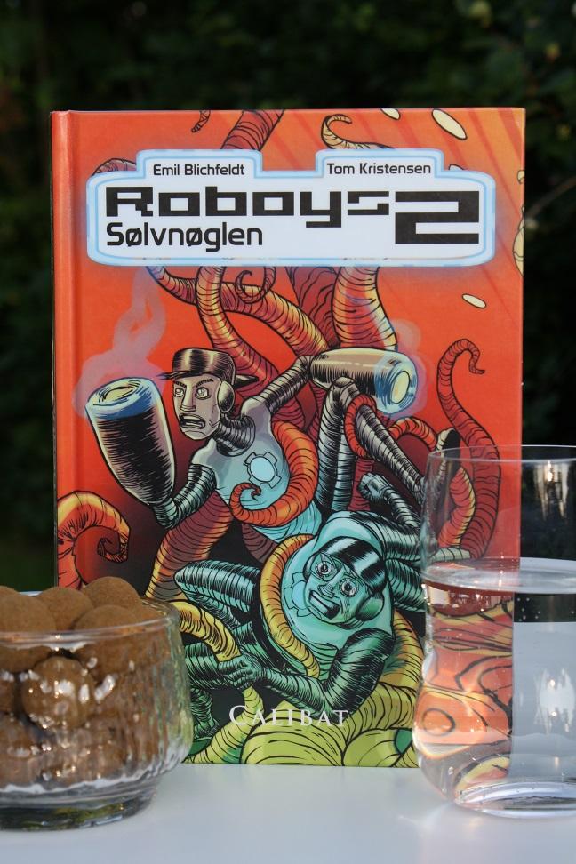 """Billede af Emil Blichfeldts bog """"Roboys 2 - Sølvnøglen""""."""