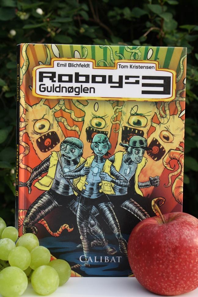 """Billede af Emil Blichfeldts bog """"Roboys 3 - Guldnøglen"""""""