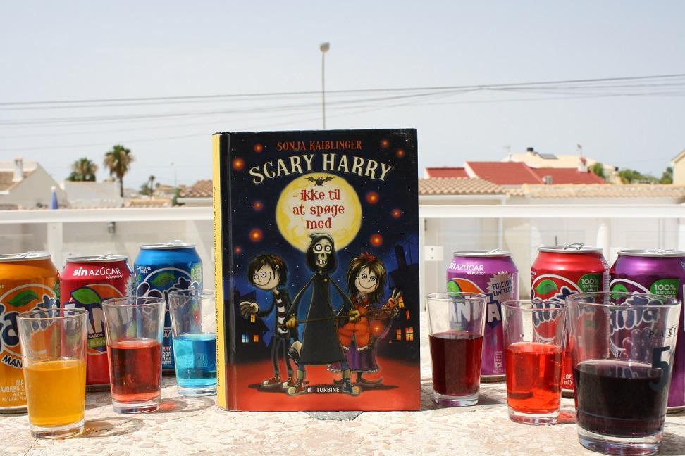 """Billede af Sonja Kaiblingers bog """"Scarry Harry - ikke til at spøge med""""."""